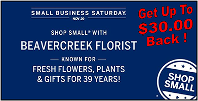November Sales at Beavercreek florist
