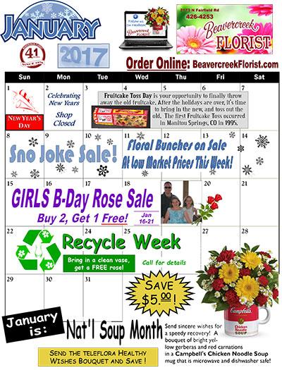December Sales at Beavercreek Florist