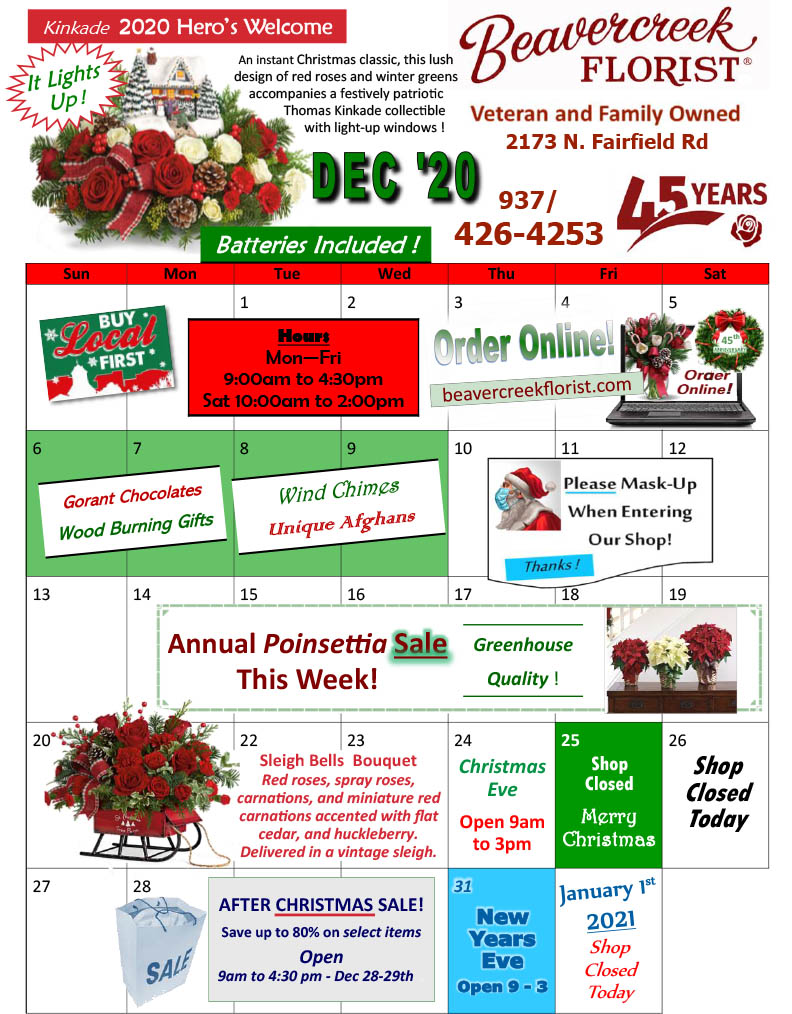 Upcoming Events from Beavercreek Florist
