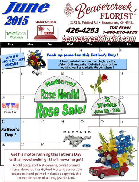 March Sales and Events at Beavercreek florist