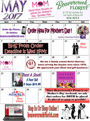March Sales at Beavercreek Florist