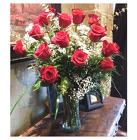 18 Red Roses Arranged  in Beavercreek, Ohio, near Dayton, OH