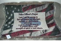 AFGHAN- POLICEMAN'S PRAYER in Beavercreek, Ohio, near Dayton, OH