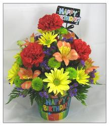 Our Birthday Boogie Bouquet  in Beavercreek, Ohio, near Dayton, OH