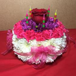 Our Floral Birthday Cake in Beavercreek, Ohio, near Dayton, OH