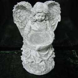 Stone-Angel with Bowl in Beavercreek, Ohio, near Dayton, OH