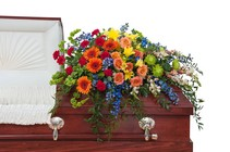 Treasured Celebration Casket Spray in Beavercreek, Ohio, near Dayton, OH