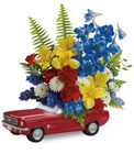 Teleflora's '65 Ford Mustang Bouquet  in Beavercreek, Ohio, near Dayton, OH