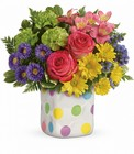 Teleflora's Happy Dots Bouquet in Beavercreek, Ohio, near Dayton, OH