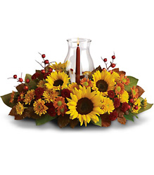 Sunflower Centerpiece in Beavercreek, Ohio, near Dayton, OH