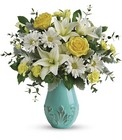 Teleflora's Aqua Dream Bouquet in Beavercreek, Ohio, near Dayton, OH