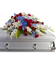 Distinguished Service Casket Spray in Beavercreek, Ohio, near Dayton, OH