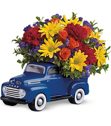 Teleflora's '48 Ford Pickup Bouquet in Beavercreek, Ohio, near Dayton, OH