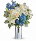 Teleflora's Skies Of Remembrance Bouquet in Beavercreek, Ohio, near Dayton, OH