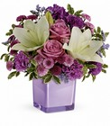Teleflora's Pleasing Purple Bouquet in Beavercreek, Ohio, near Dayton, OH