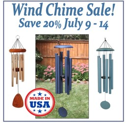Wind Chime SALE in Beavercreek, Ohio, near Dayton, OH